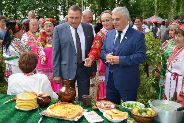 Старошайговский район Мордовии отметил 90-летие