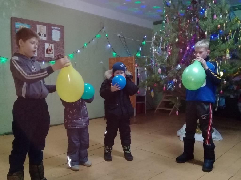 Новый год 2019 в Новой Александровке