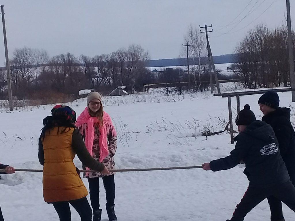 Широка Масленица  в Новой Александровке