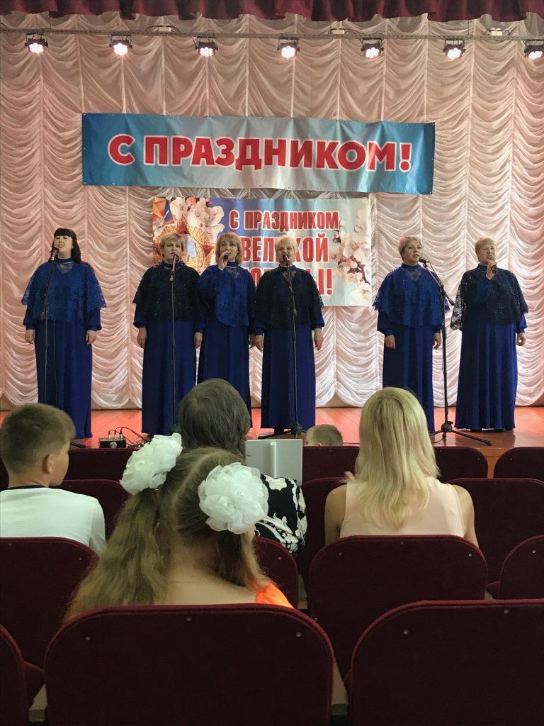Митинг в с.Новотроицкое