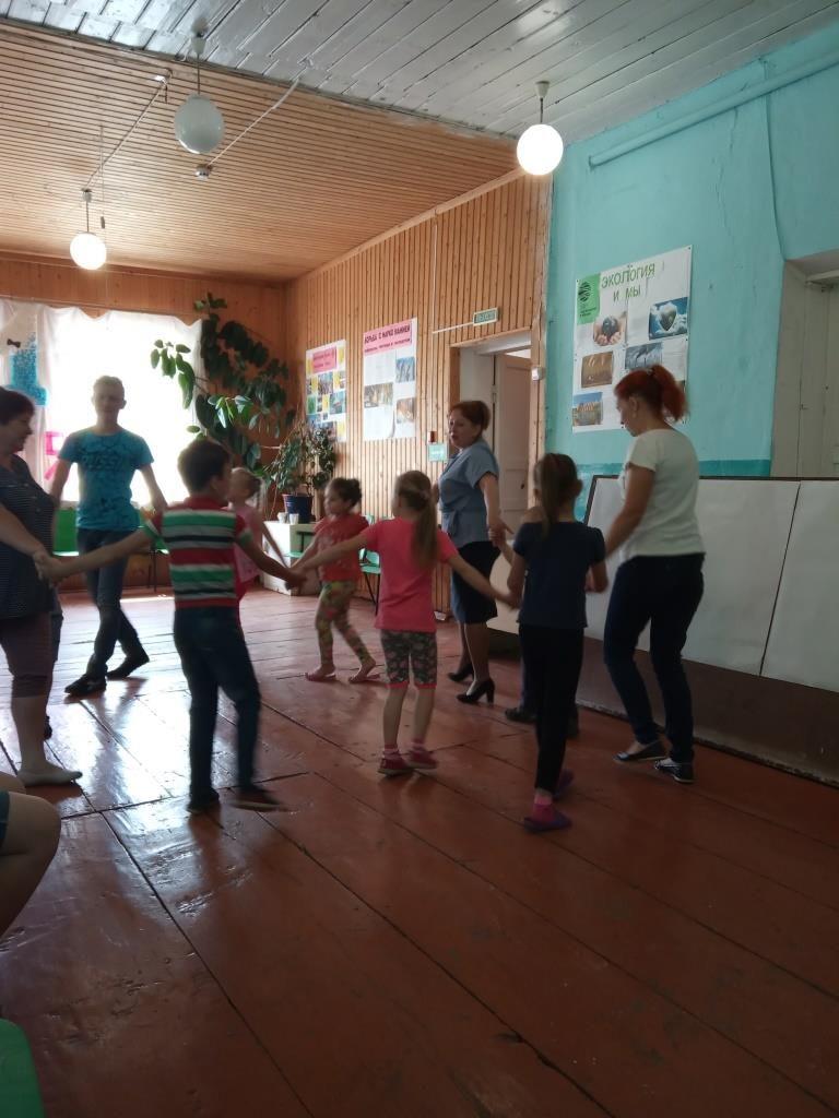 1 июня в Старофедоровском сельском клубе