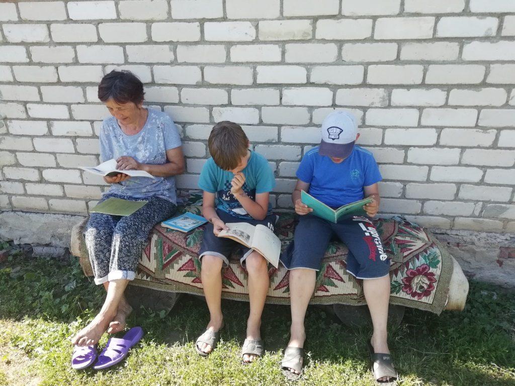Уличная акция «Читаем Пушкина вместе»