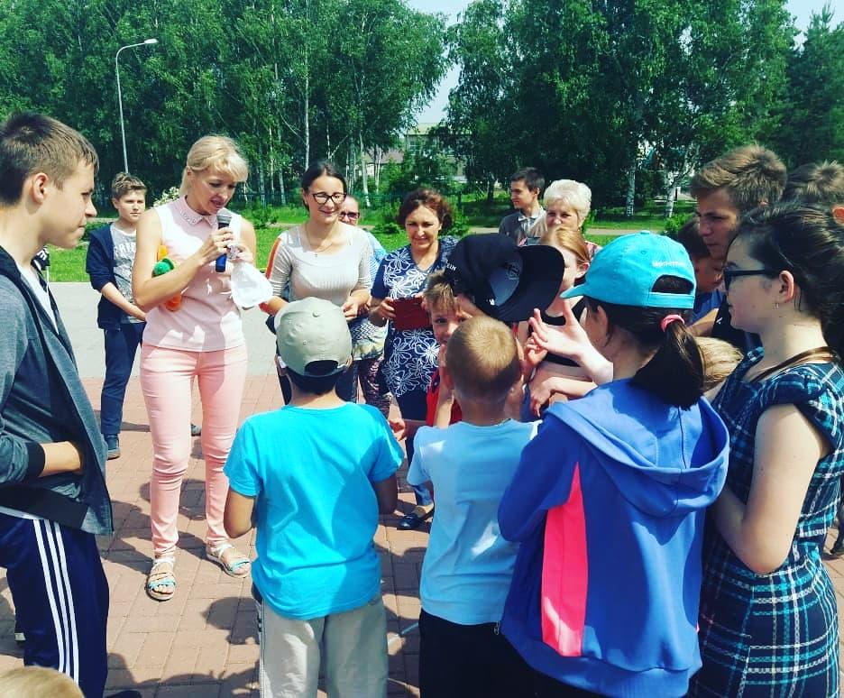 Международный день защиты детей - с. Новотроицкое