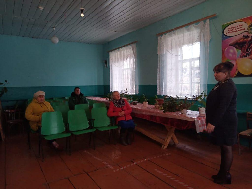 Мини концерт в Старой Федоровке