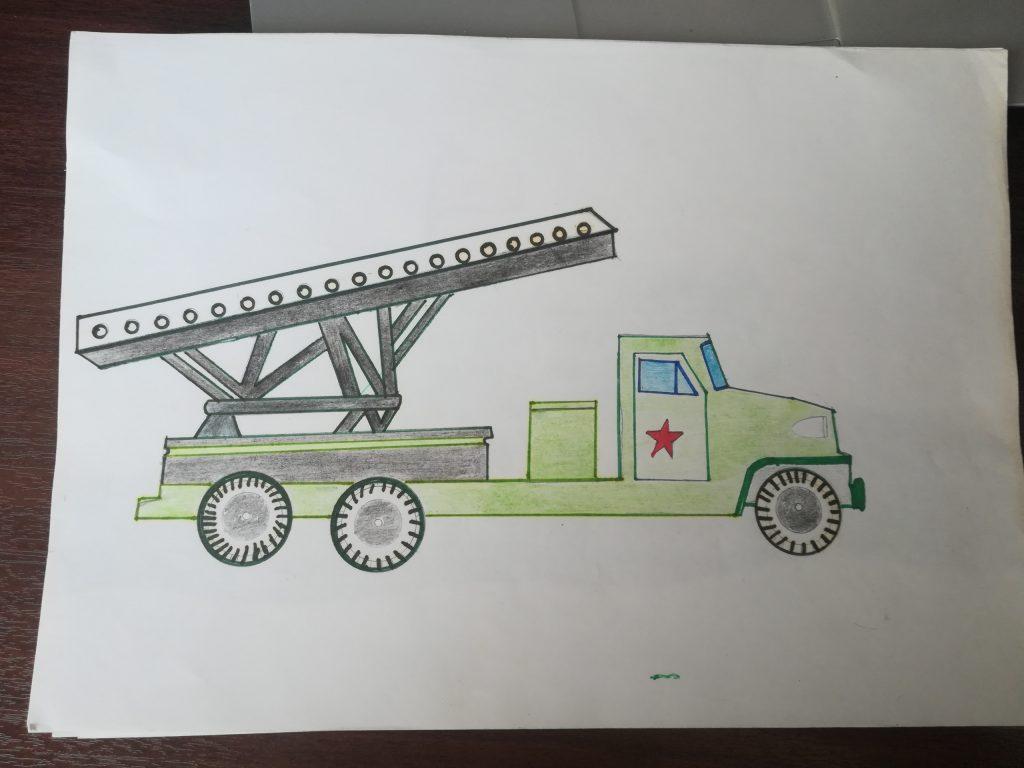 Конкурс рисунков на день Защитника Отечества.