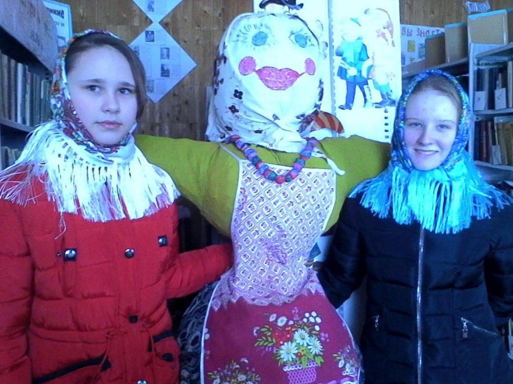 Старофедоровский сельский клуб.Онлайн-флешмоб «Масленица-красная девица!».