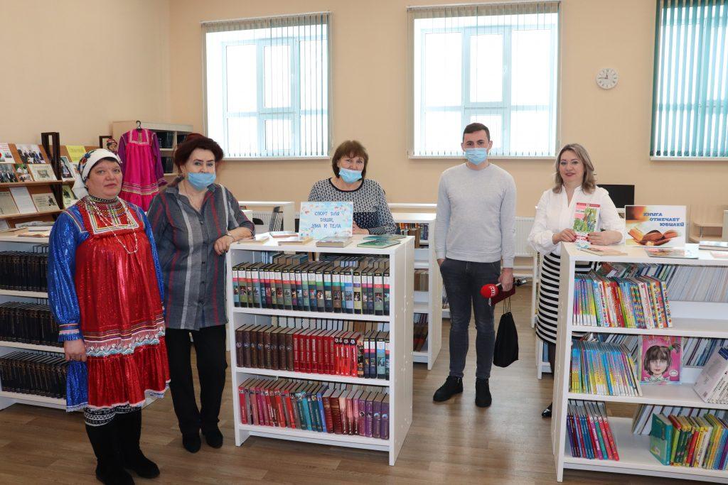 """МБУК """" Центр культуры"""" посетила съёмочная группа Народного телевидения Мордовии."""