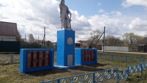 В Богдановском сельском поселении памятник погибшим воинам во время ВОВ 1941 -1945 гг покрашен, убрана территория памятника и села.
