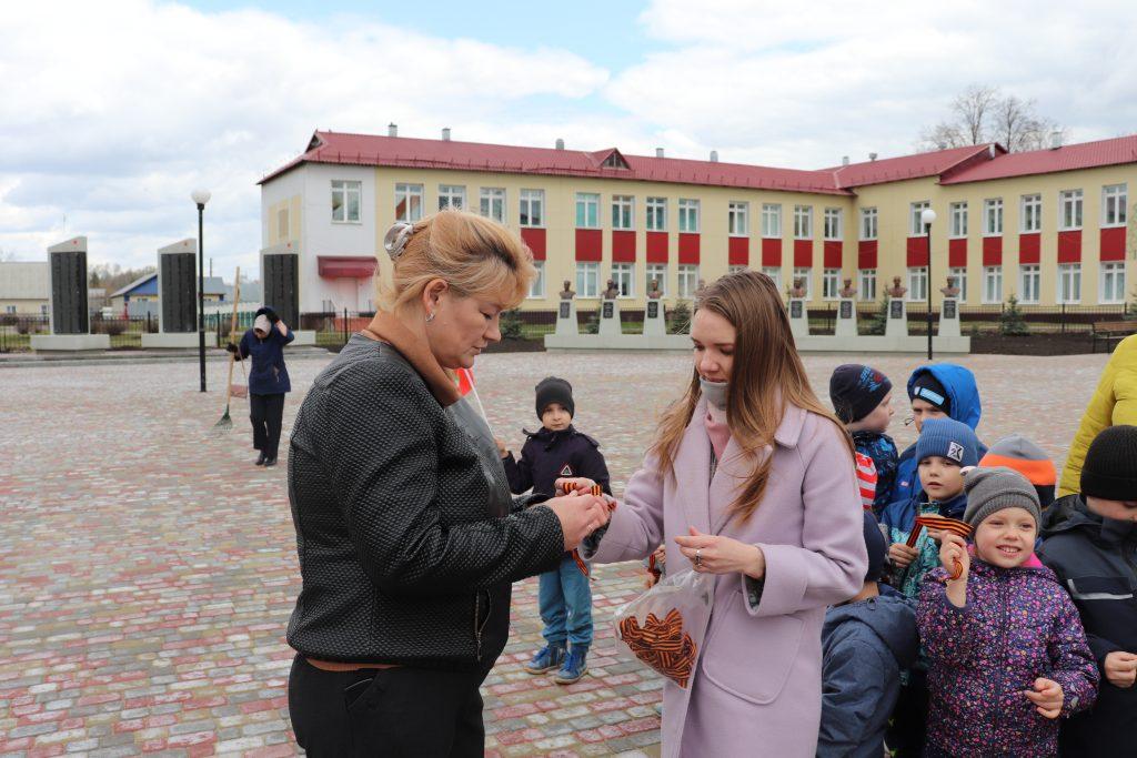 В Старошайговском муниципальном районе стартовала Всероссийская акция «Георгиевская ленточка»