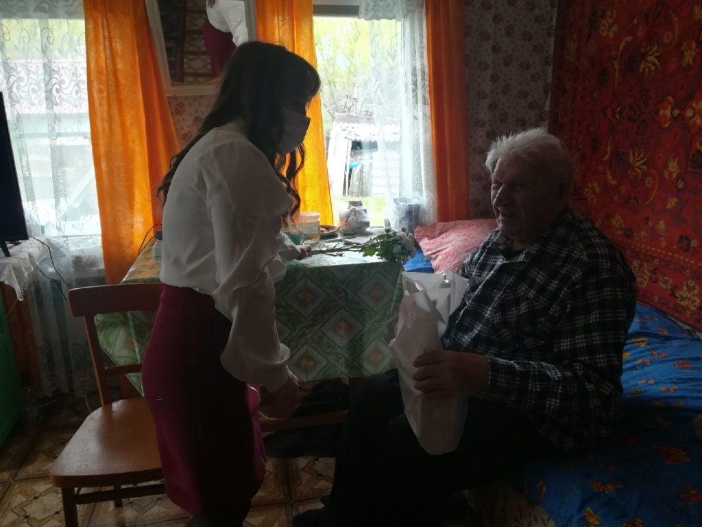 Новиков Алексей Ильич - единственный живой ветеран в селе Старая Федоровка!