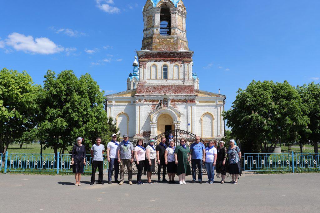 Волонтеры культуры Старошайговского муниципального района приняли участие в акции.
