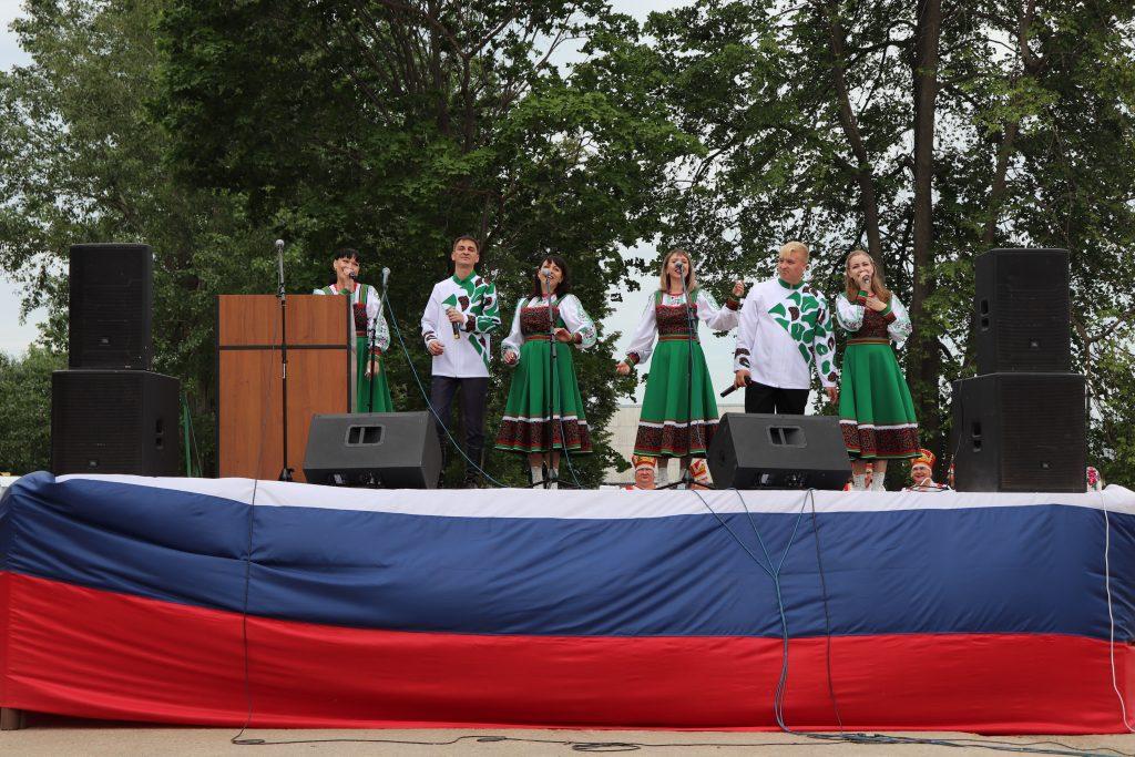4 июня на центральной площади с. Старое Шайгово прошел Республиканский конкурс «Создание и продвижение культурных брендов сельских территорий Республики Мордовия» .