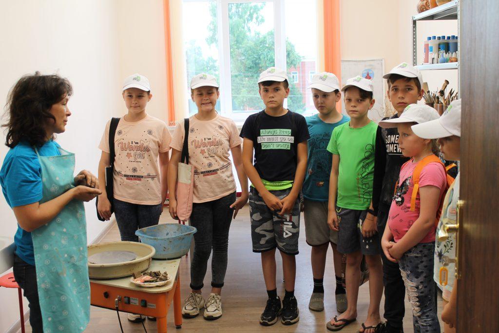 Руководитель клубного формирования Коркина Л.И. провела очередной мастер — класс для детей посещающих группу кратковременного пребывания, которая организована на базе ГКУ «СЗН по Старошайговскому району РМ».