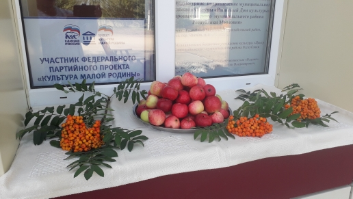 Богдановский сельский клуб принимает участие в фотоконкурсе «Яблочко наливное»