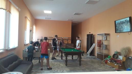 Богдановский многофункциональный, обновленный сельский клуб открыл свои двери для своих долгожданных зрителей. Мы ждем Вас, наши дорогие посетители!