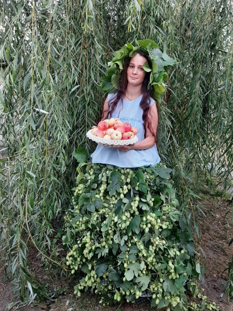 Ольга Серегина принимает участие в фотоконкурсе «Яблочко наливное»
