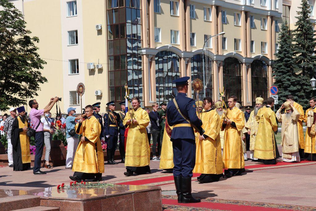 5 августа в г. Саранске прошло торжественное мероприятие, посвященное 20-летию канонизации святого и праведного воина Феодора Ушакова.