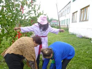 Конкурс на лучшее огородное пугало. (2)