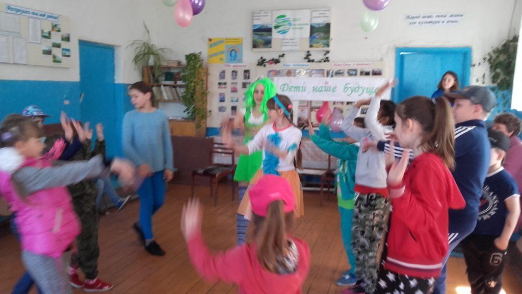 День защиты детей в Новом Акшино Старошайговского района