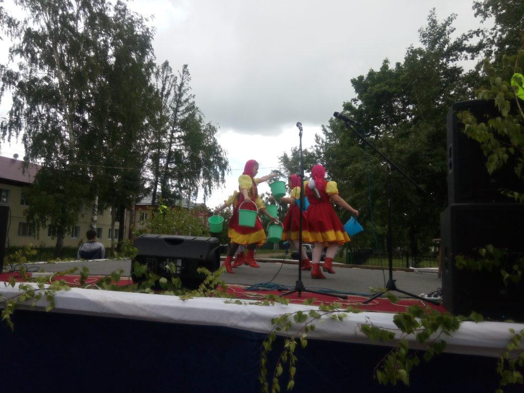 Праздник Троицы в Старом Шайгово