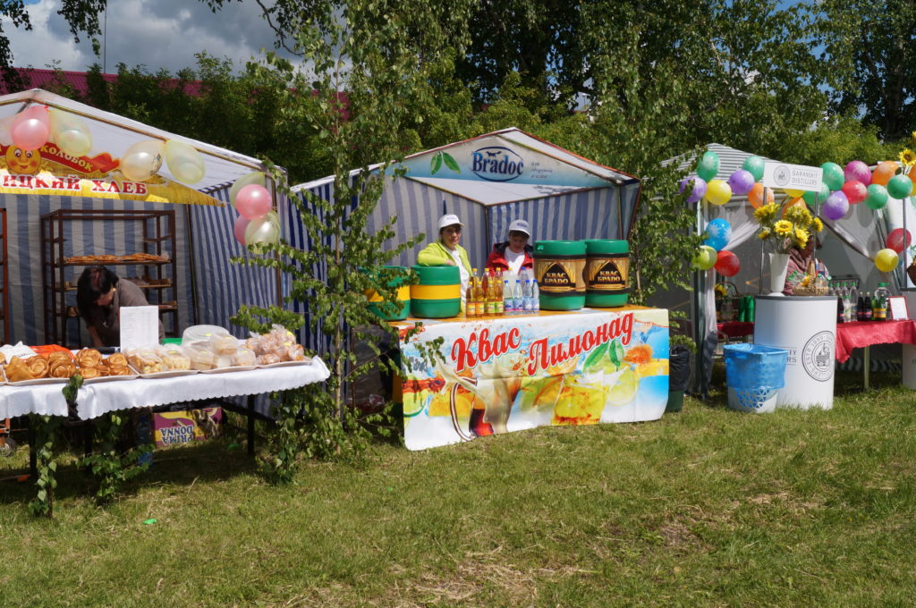 Праздник Святой Троицы в селе Новотроицк Старошайговского района