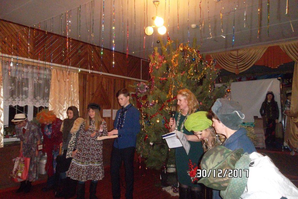 Новогодний Бал – Маскарад в с. Лемдяй.