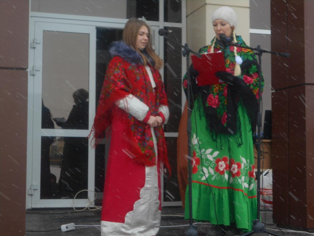 Праздничные гуляния «Масленица» с. Новотроицкое