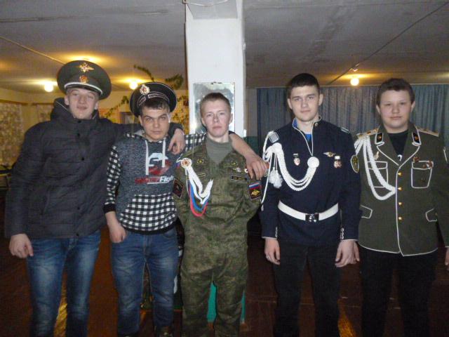 День защитников отечества с. Мельцаны